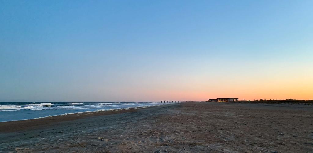 Anastasia Beach sunset