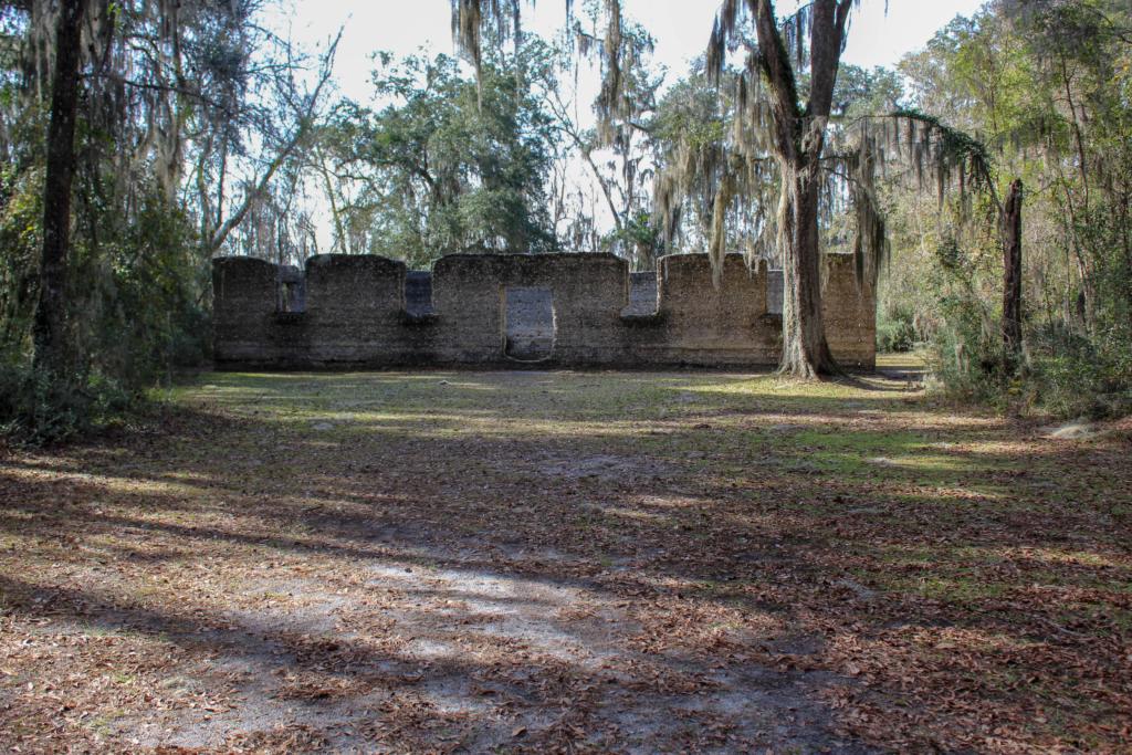 McIntosh Sugar Mill Tabby Ruins