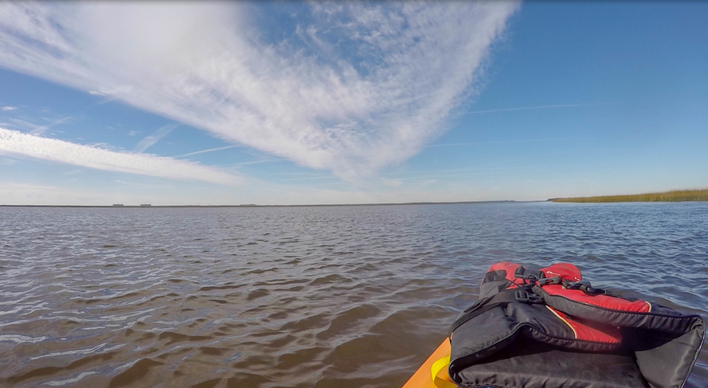 Heading out to go Kayak Camping on Cumberland Island