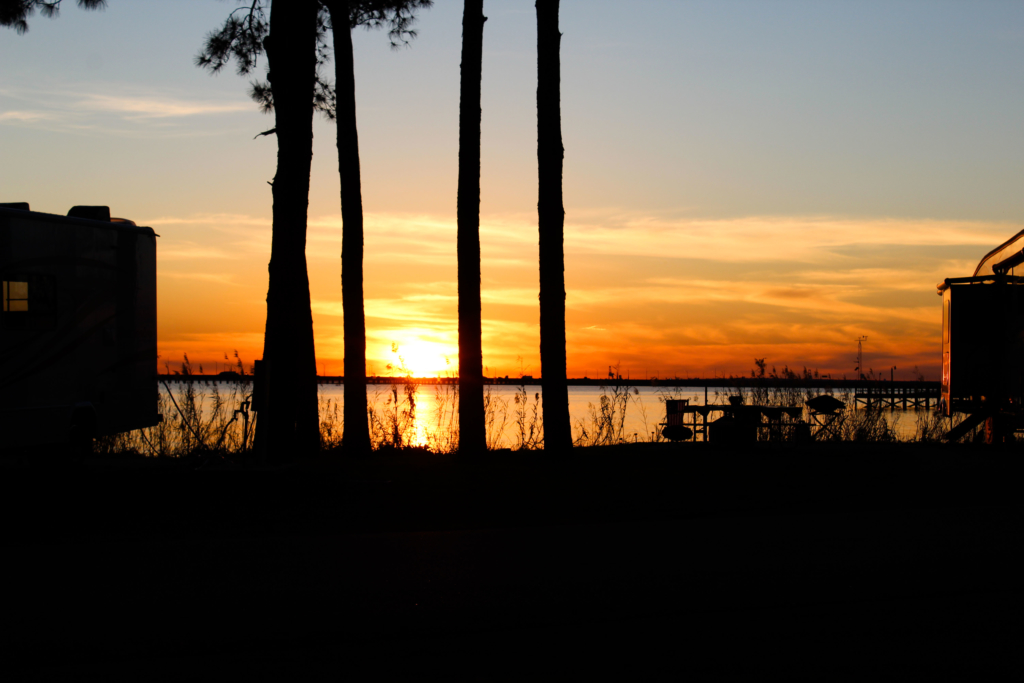 Meaher State Park Sunset