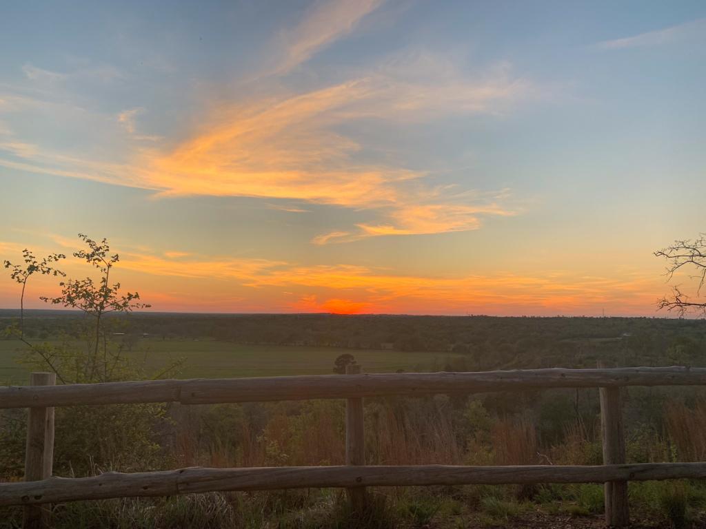 Buescher State Park sunset