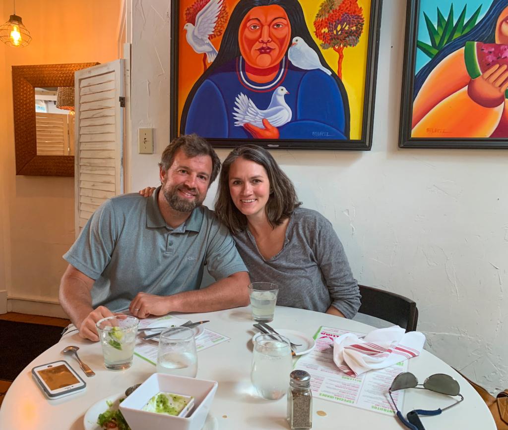 Dinner at El Alma in Austin