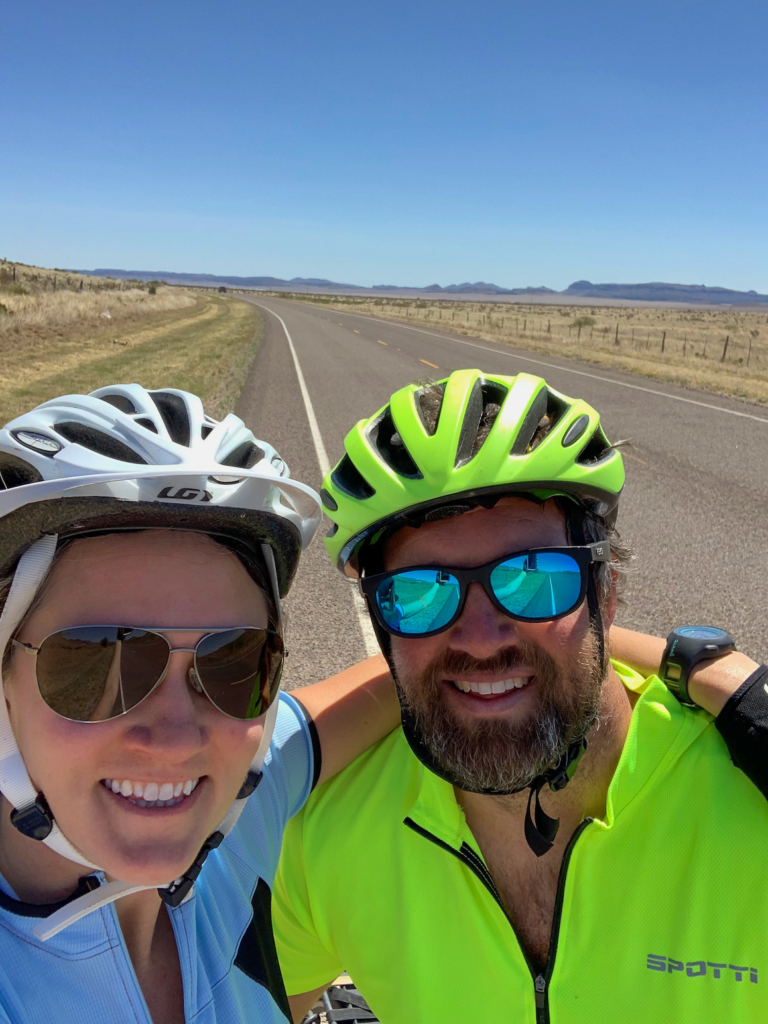 Davis Mountains bike ride