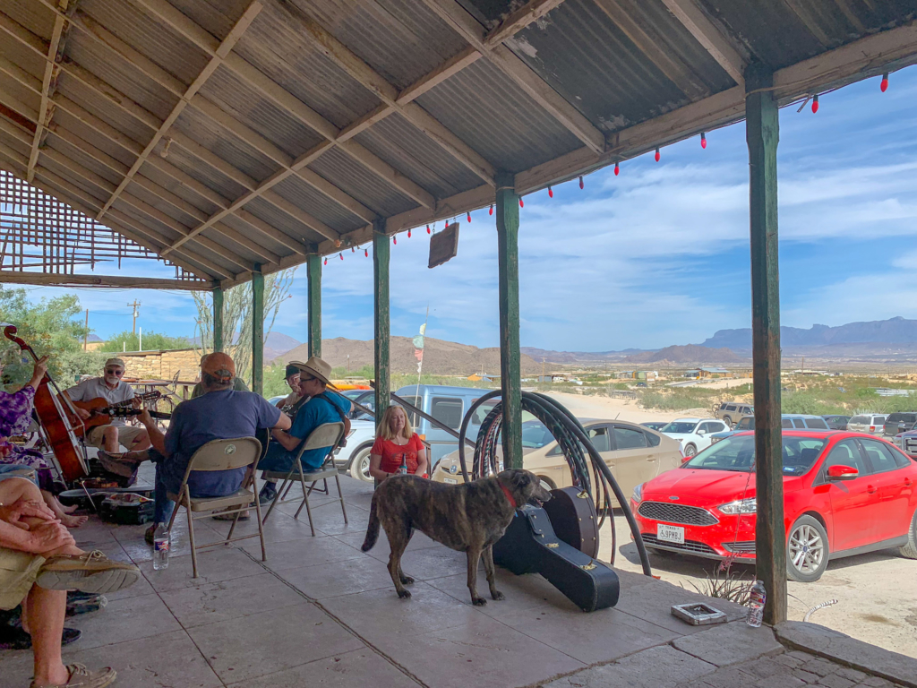 Terlingua Ghost Town's The Porch