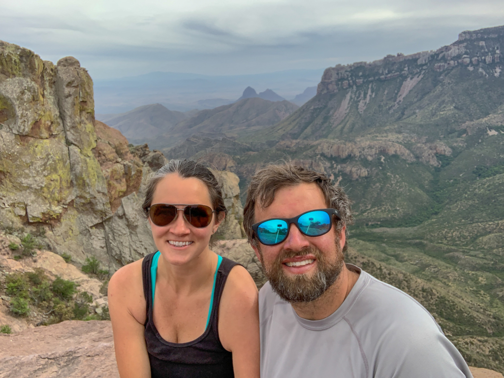 Lost Mines Trail Big Bend National Park only 40 minutes from Terlingua