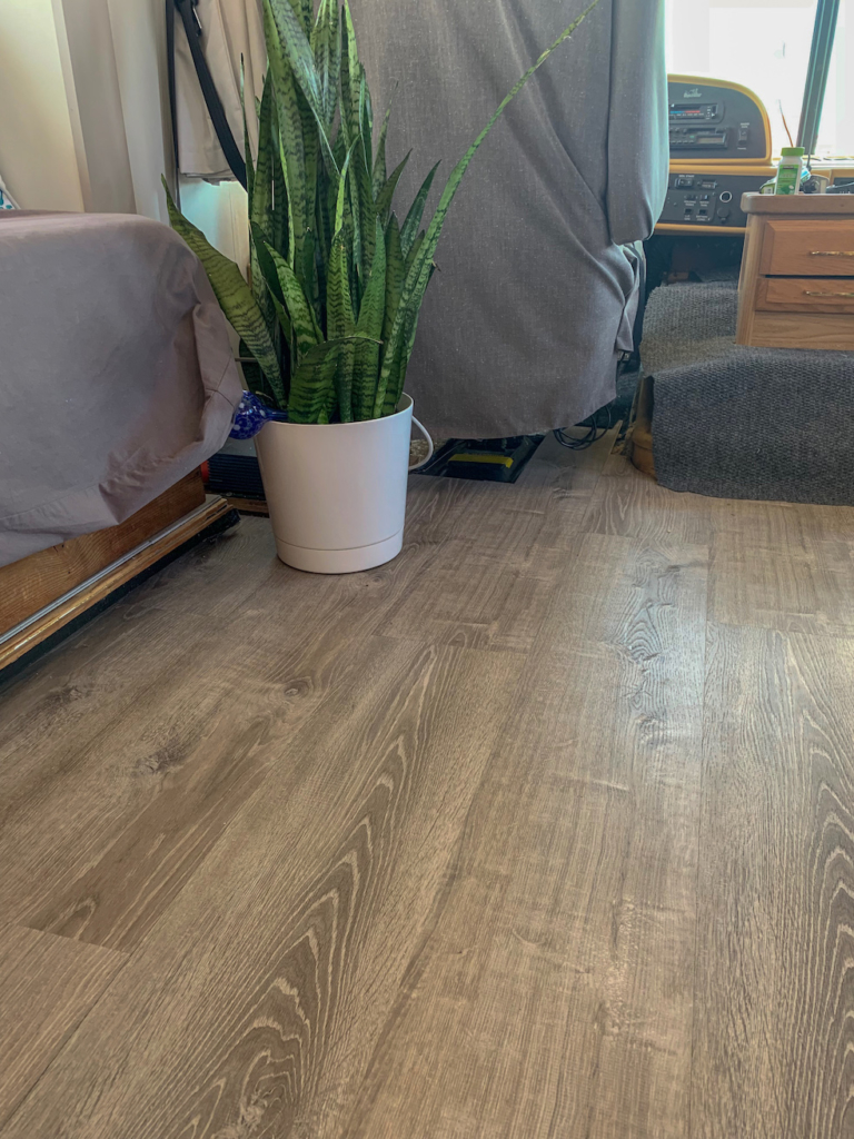 Lifeproof Flooring in the RV