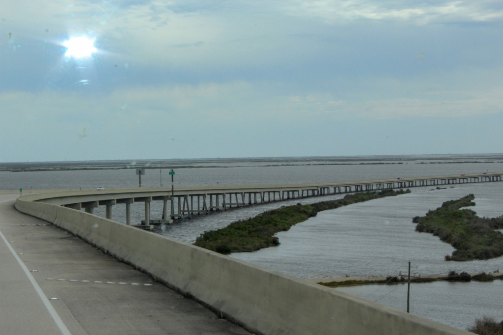 Grand Isle toll bridge