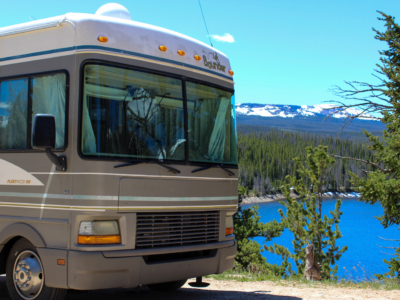 Boondocking on Chambers Lake
