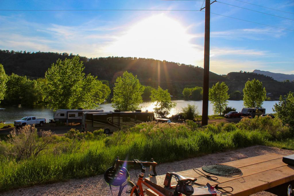 Horsetooth Reservoir in Fort Collins