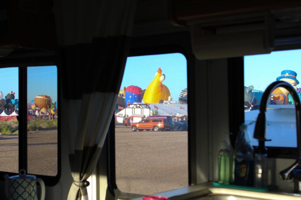 Balloon Fiesta VIP North Lot