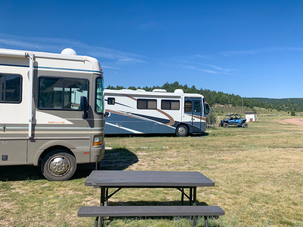 Campground at Camp Lutherwood