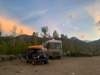 Lundy Canyon Boondocking