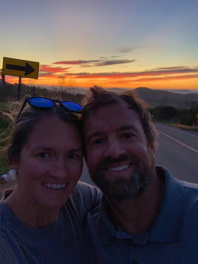 Ramona Sunset Selfie
