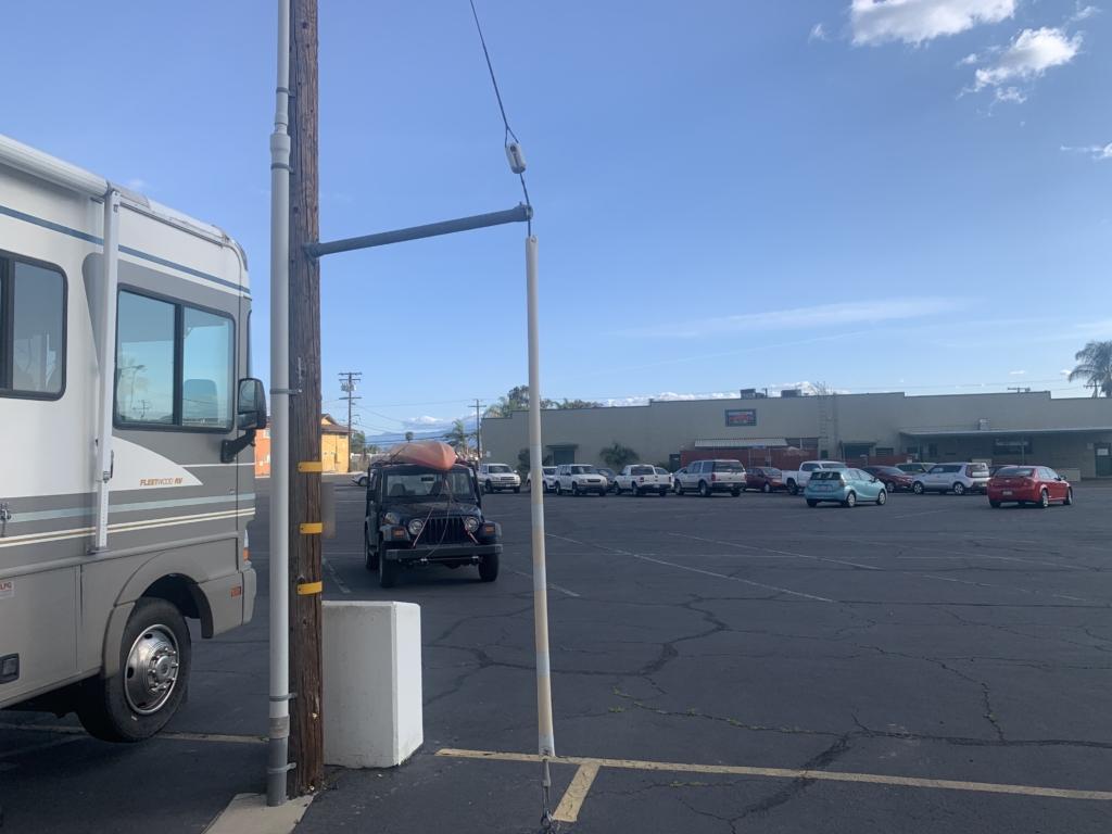 Ontario Elks Lodge RV Parking