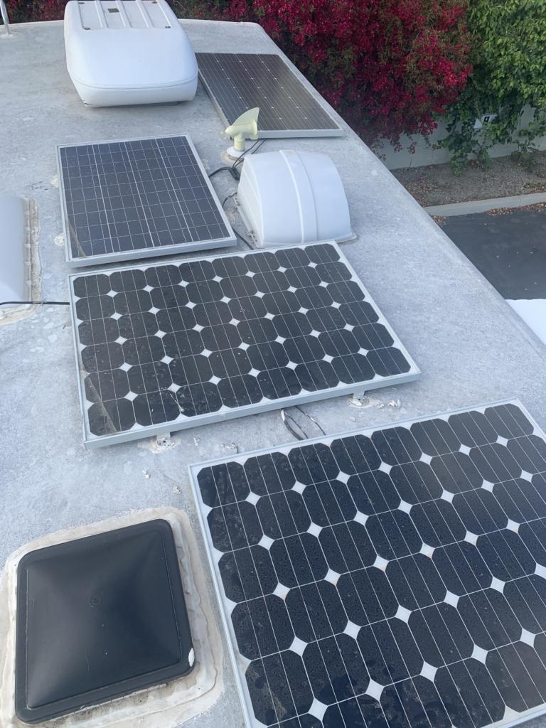 Inherited RV Solar Setup