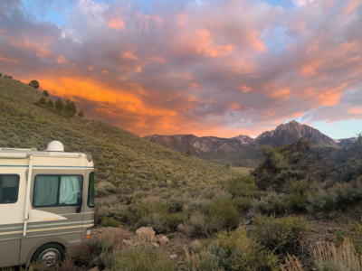 Free Camping in Mammoth Lakes