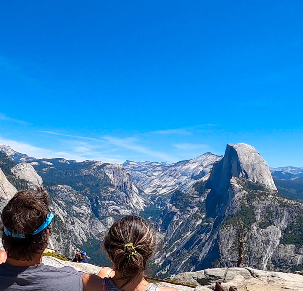 Glacier Point picnic