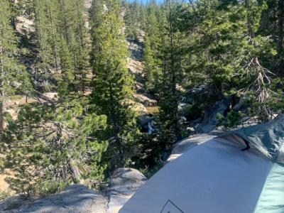 Glen Aulin Backpacking Campsite