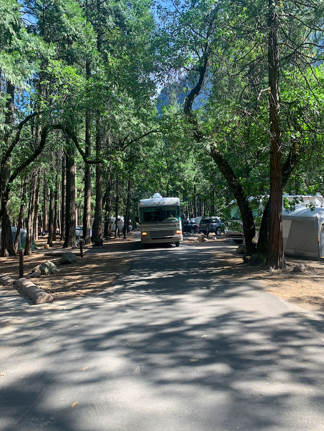 Upper Pines Campground Yosemite National Park