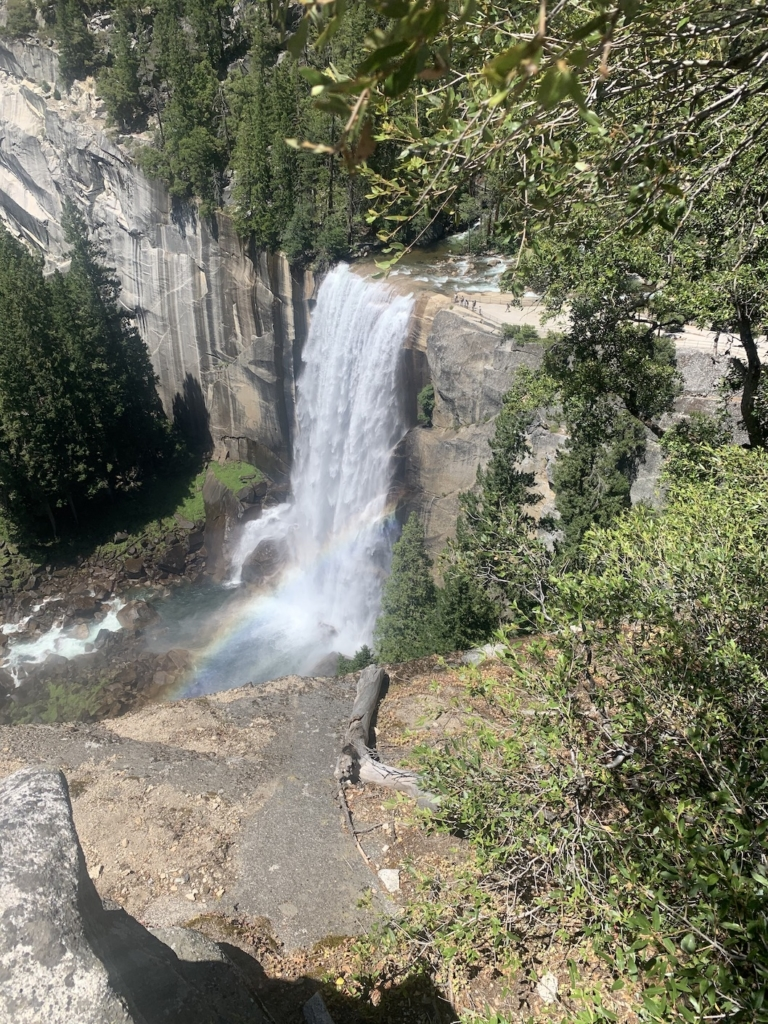 Vernal Falls - one of the most popular trails in Yosemite Valley