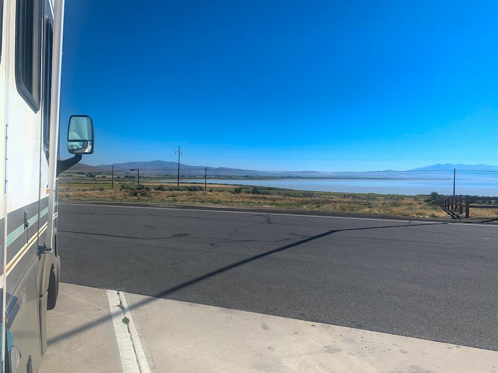 Honey Lake Rest Area RV Parking