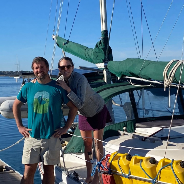 We have been really busy the past few months settling in to our new home on the water! So excited for this new chapter on our 1979 Allied Seawind II!